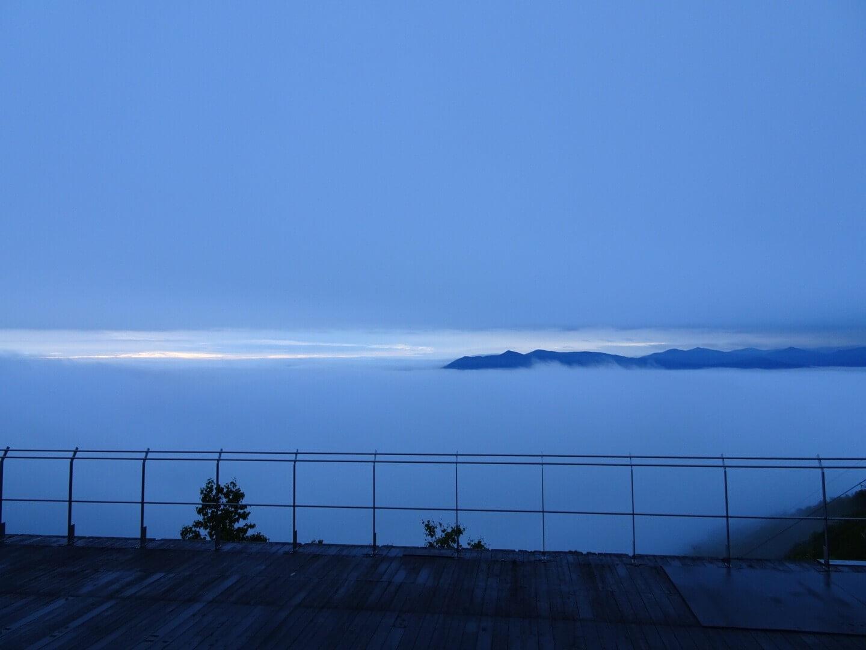 太平洋型雲海と悪天候型雲海